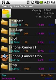 Astro file manager interface